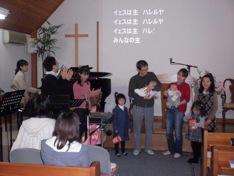 七五三は教会で!〔無料〕「子供祝福式」